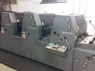 Printmaster GTO 52-4 Sheet Fed