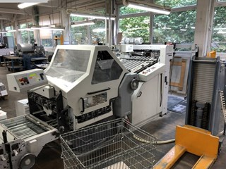 Heidelberg-Stahlfolder KD 78-6 KTL Folding machines