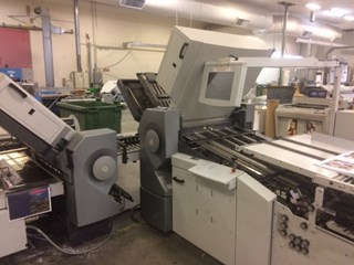 Heidelberg-Stahfolder RFH-82-6-4-4 AUT Folding machines