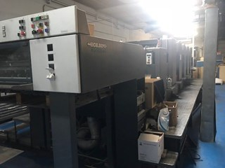 Heidelberg Speedmaster SM 102 5PP+L Sheet Fed