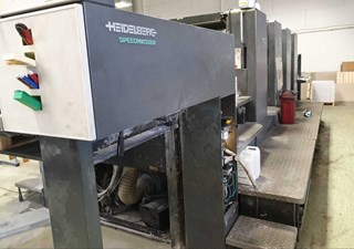 Heidelberg SM 102-4P3 Sheet Fed