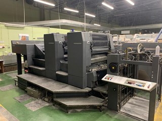 Heidelberg SM 102-2P Sheet Fed