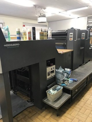 HEIDELBERG SM 74-2P-H Sheet Fed