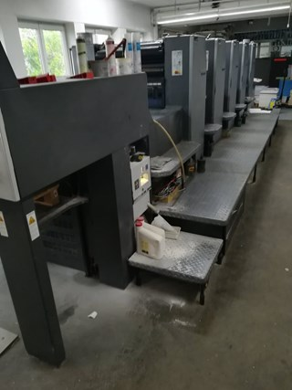 HEIDELBERG SM 74-5P3-H Sheet Fed