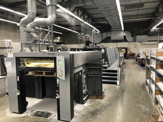 Heidelberg SM XL 106-8P+LX4 Sheet Fed