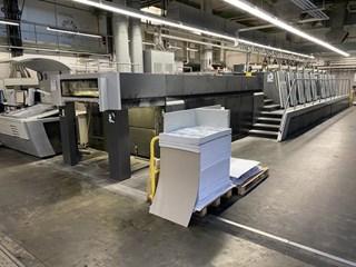 Heidelberg SM XL 106-8P+LX3 18K Machines offset à feuilles
