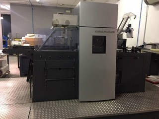 Kama ProCut 74 with HotFoil Die Cutters - Automatic and Handfed