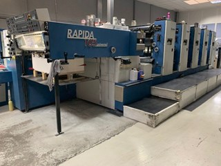 KBA Rapida 104-5 Sheet Fed