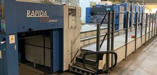 Rapida 105-5+L CX ALV2 Sheet Fed