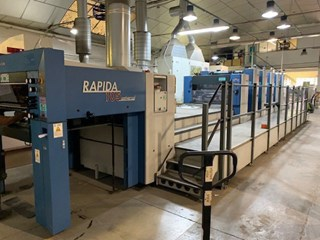 KBA Rapida 105-5+L CX ALV2 UV Sheet Fed
