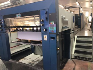 Rapida 142-4+L ALV2 Sheet Fed