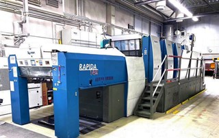KBA Rapida 145-4 SIS SPC Offset de pliegos