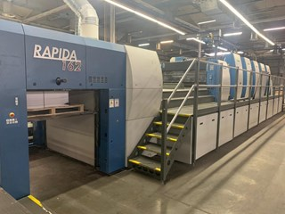 KBA Rapida 162A-5+L CX ALV2 Sheet Fed