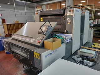 KOMORI GS 228P Sheet Fed