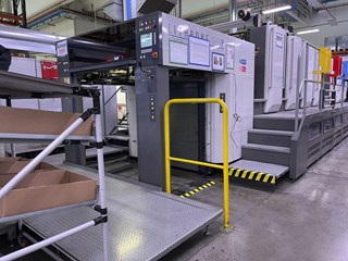 Komori Lithrone GL 840P H-UV Sheet Fed