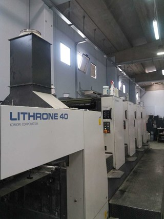 Komori Lithrone 440 Sheet Fed