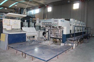 Komori Lithrone L-540 Offset de pliegos