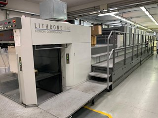 Komori Lithrone LS 640H+CX UV Sheet Fed
