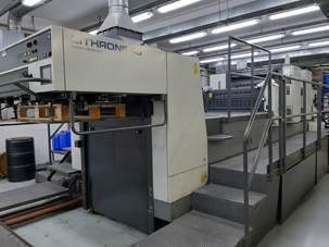 Komori Lithrone 240+CX UV Sheet Fed