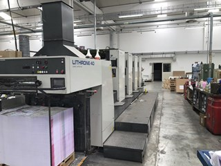 Komori Lithrone L-440 Offset de pliegos