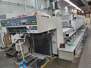 Komori Lithrone L 640+C Sheet Fed