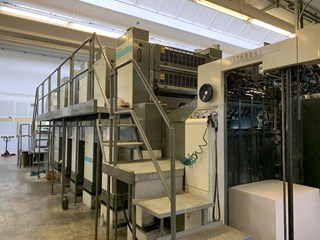 Komori Super Perfector L-540 SP  Machines offset à feuilles