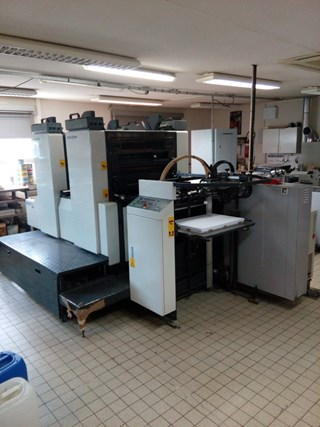 KOMORI Sprint II 228P Sheet Fed