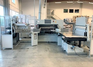 Polar 115 N PRO CUTTING LINE Guillotinas
