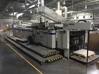 Steinemann Hibis 104 Laminating and coating