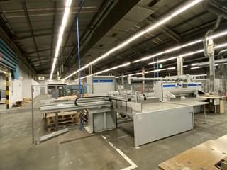 Wohlenberg 225 TS/LM + BAUMANN LINE 切纸机