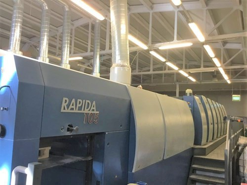 Show details for Rapida 105-6+L CX ALV2 Hybrid