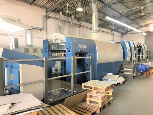 Used printing equipment and used printing machines for sale