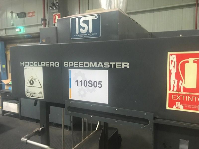 Heidelberg Speedmaster CD 102 5+LX (UV)