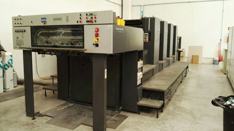 Show details for Heidelberg Speedmaster CD 102 4