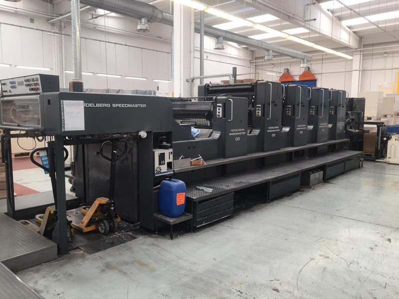 Show details for HEIDELBERG CD 102 V+L
