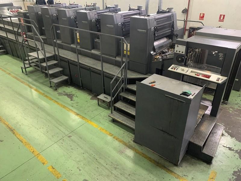 Heidelberg CD 102-6+LX2 Hybrid