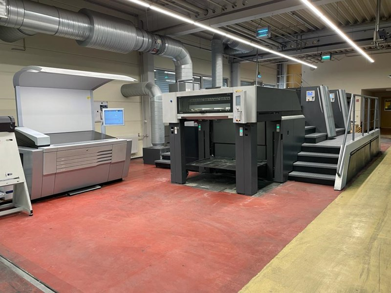 Show details for Heidelberg SM XL 106-2P