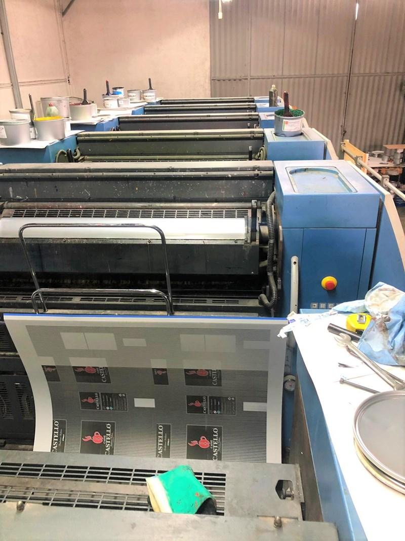 KBA Rapida 105-5+L CX ALV2 Hybrid