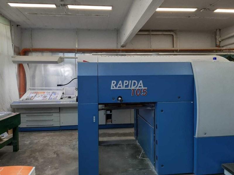 KBA Rapida 105-8 SW4 FAPC
