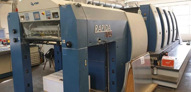 Show details for KBA Rapida 105-5 FAPC