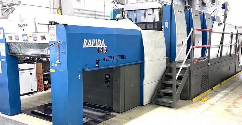 KBA Rapida 145-4 SIS SPC