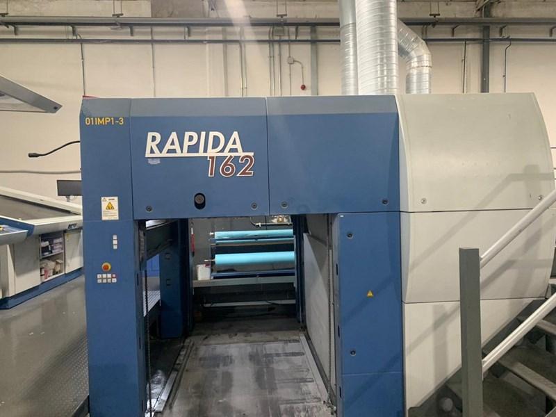KBA Rapida 162A-5+L CX ALV2