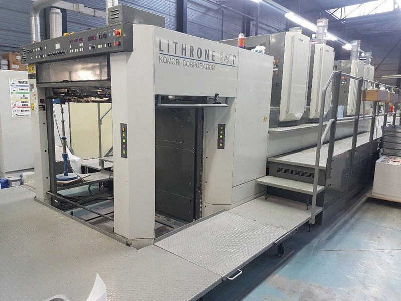 Show details for Komori Lithrone LS 440(H)-P