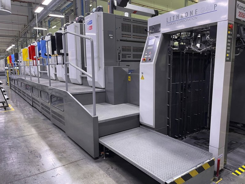Komori Lithrone GL 840P H-UV