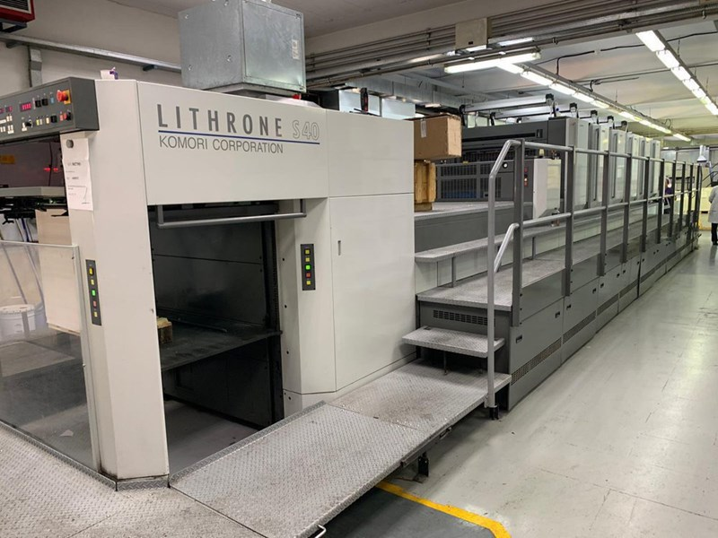 Show details for Komori Lithrone LS 640H+CX UV