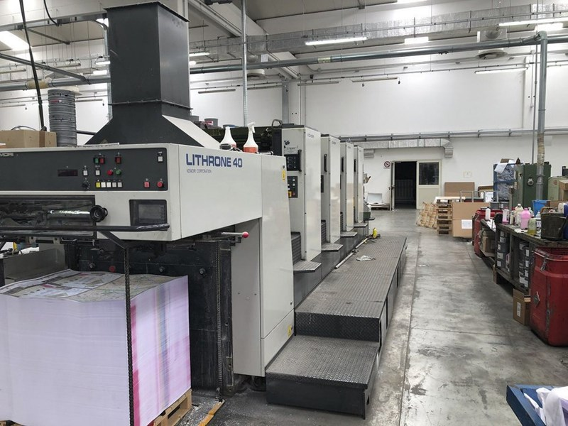 Show details for Komori Lithrone L-440