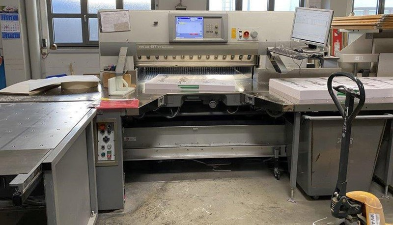 Polar 137 AT-XT Cutting Line