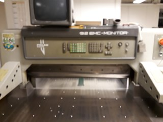 Polar 92 EMC-monitor Guillotines/Cutters