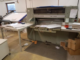 Wohlenberg 115 with programme Guillotines/Cutters