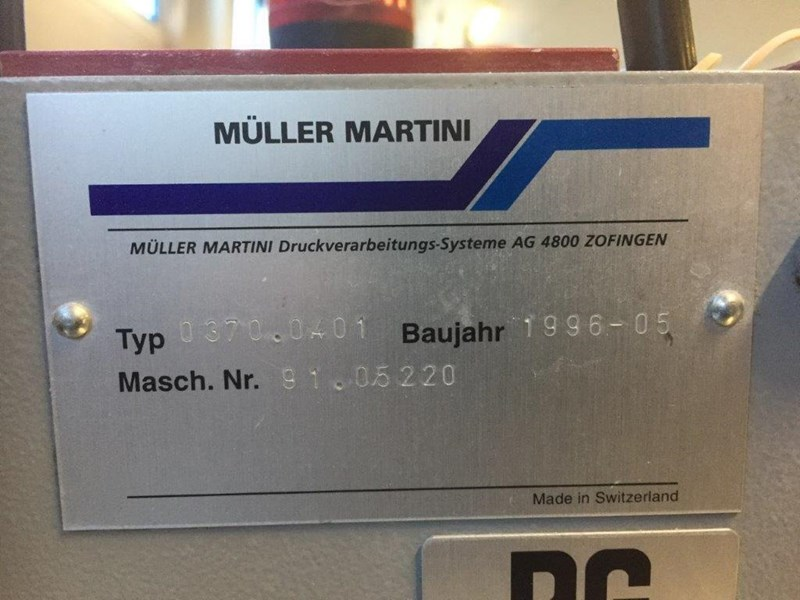 Show details for Müller Martini Prima